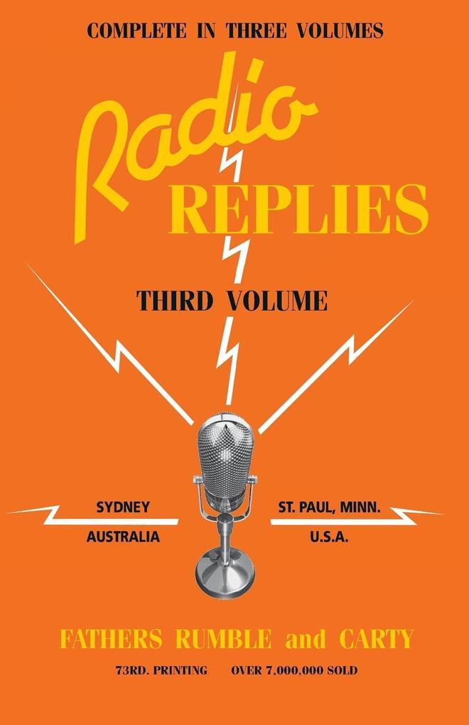Radio Replies Vol. 3 als Taschenbuch