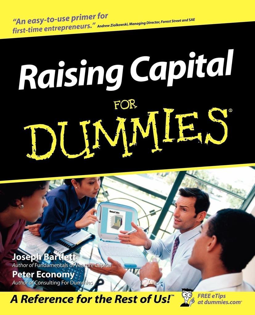 Raising Capital For Dummies als Taschenbuch