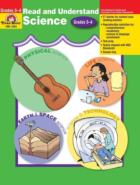 Read & Understand Science, Grades 3-4 als Taschenbuch