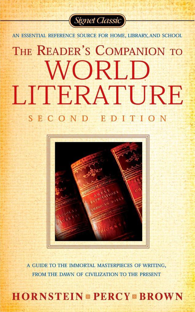 The Reader's Companion to World Literature als Taschenbuch