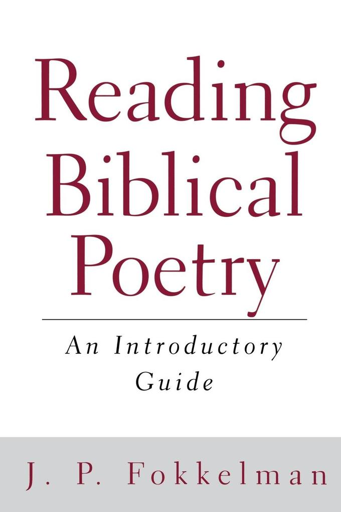 Reading Biblical Poetry als Buch