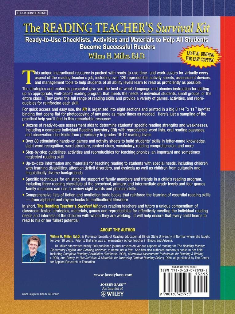 Reading Teacher s Survival Kit als Taschenbuch