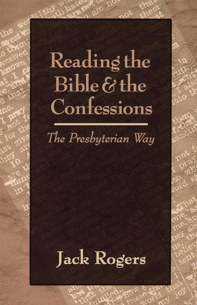 Reading the Bible and the Confessions als Taschenbuch