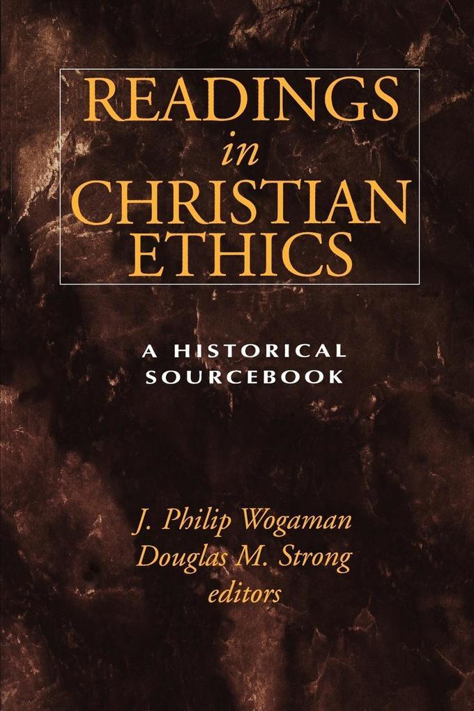 Readings in Christian Ethics als Taschenbuch