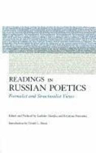 Readings in Russian Poetics: Formalist and Structuralist Views als Taschenbuch