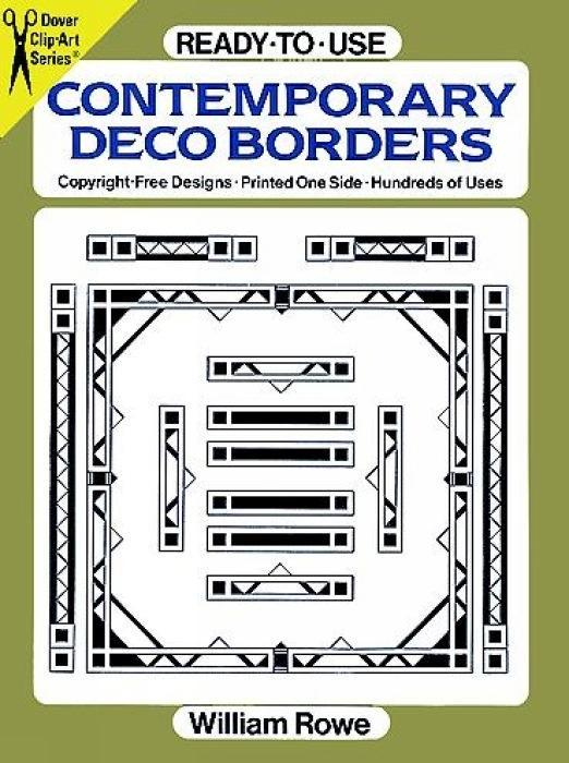 Ready-To-Use Contemporary Deco Borders als Taschenbuch