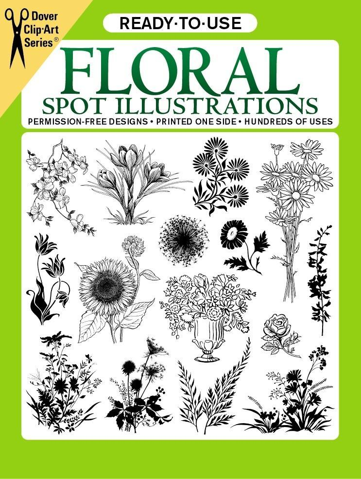 Ready-To-Use Floral Spot Illustrations als Taschenbuch