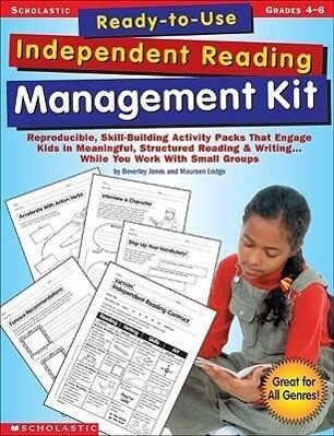 Ready-To-Use Independent Reading Management Kit: Grades 4-6 als Taschenbuch