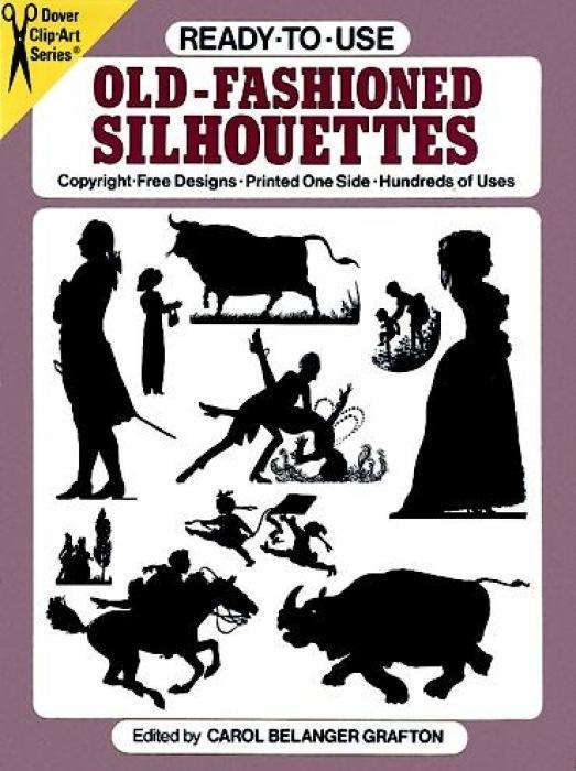 Ready-To-Use Old-Fashioned Silhouettes als Taschenbuch