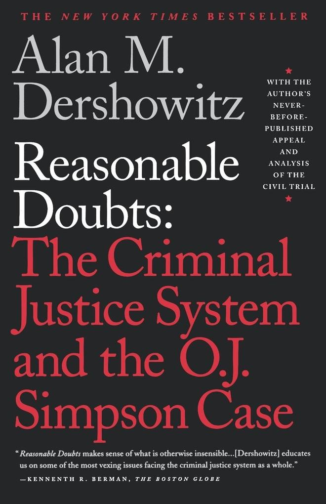 Reasonable Doubts als Buch