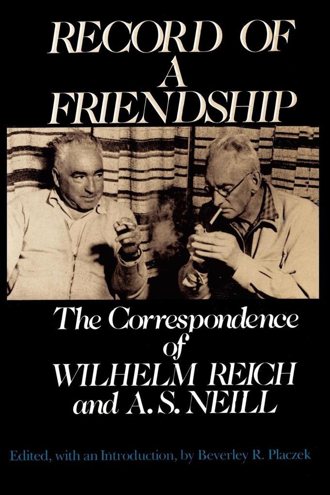 Record of a Friendship als Taschenbuch