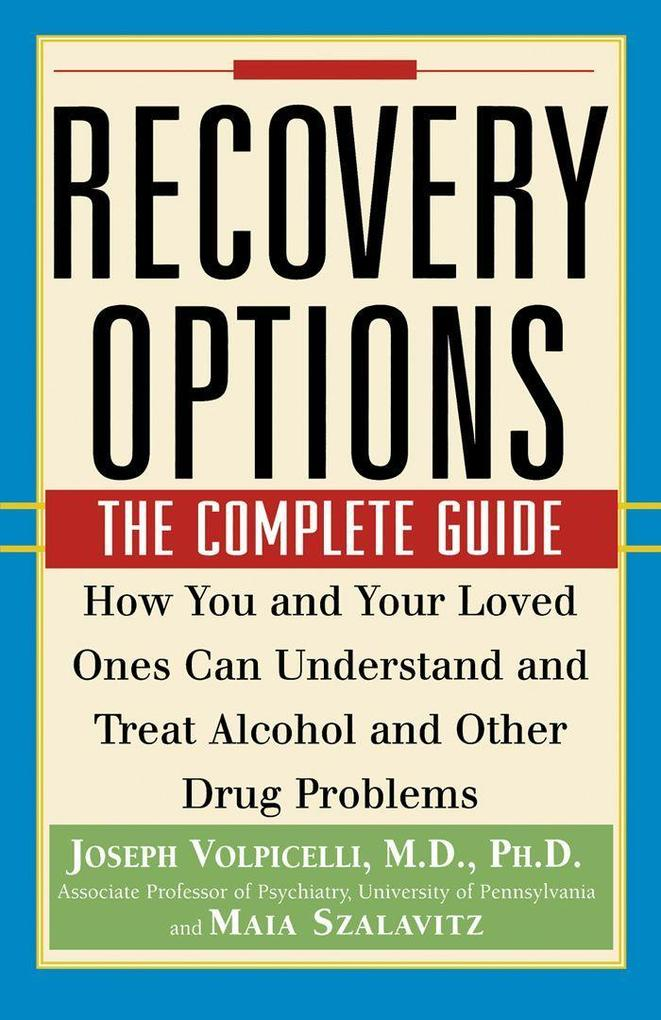 Recovery Options: The Complete Guide als Taschenbuch