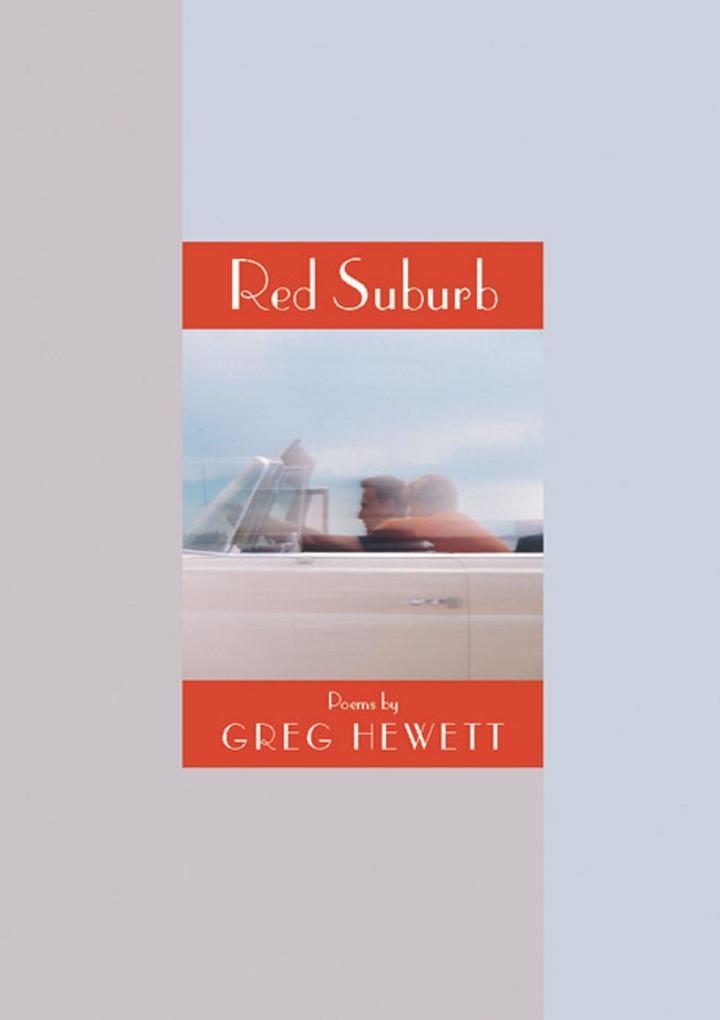 Red Suburb: Poems als Taschenbuch