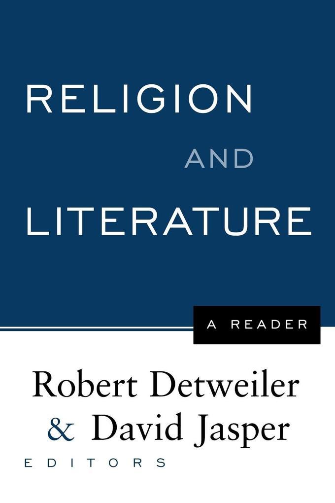 Religion and Literature als Taschenbuch