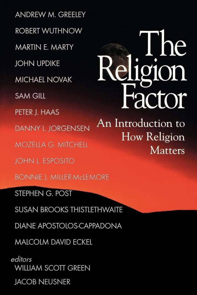 The Religion Factor als Taschenbuch