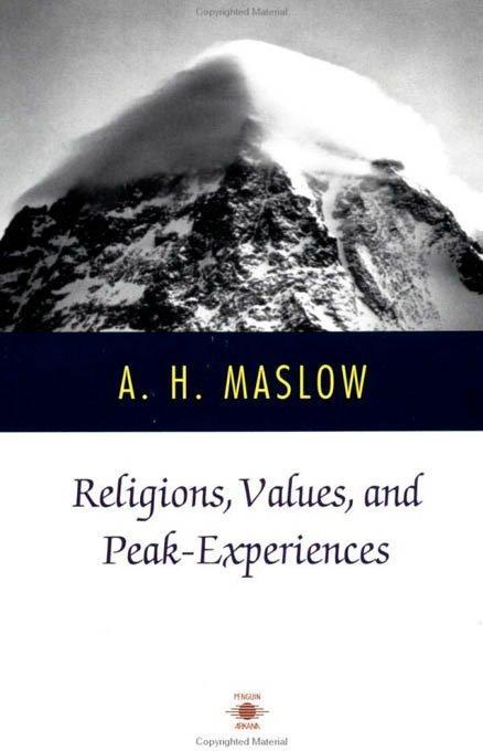 Religions, Values, and Peak-Experiences als Taschenbuch