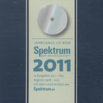 Spektrum Jahrgangs-CD 2011 als Software