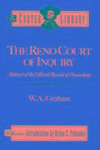 The Reno Court of Enquiry als Buch