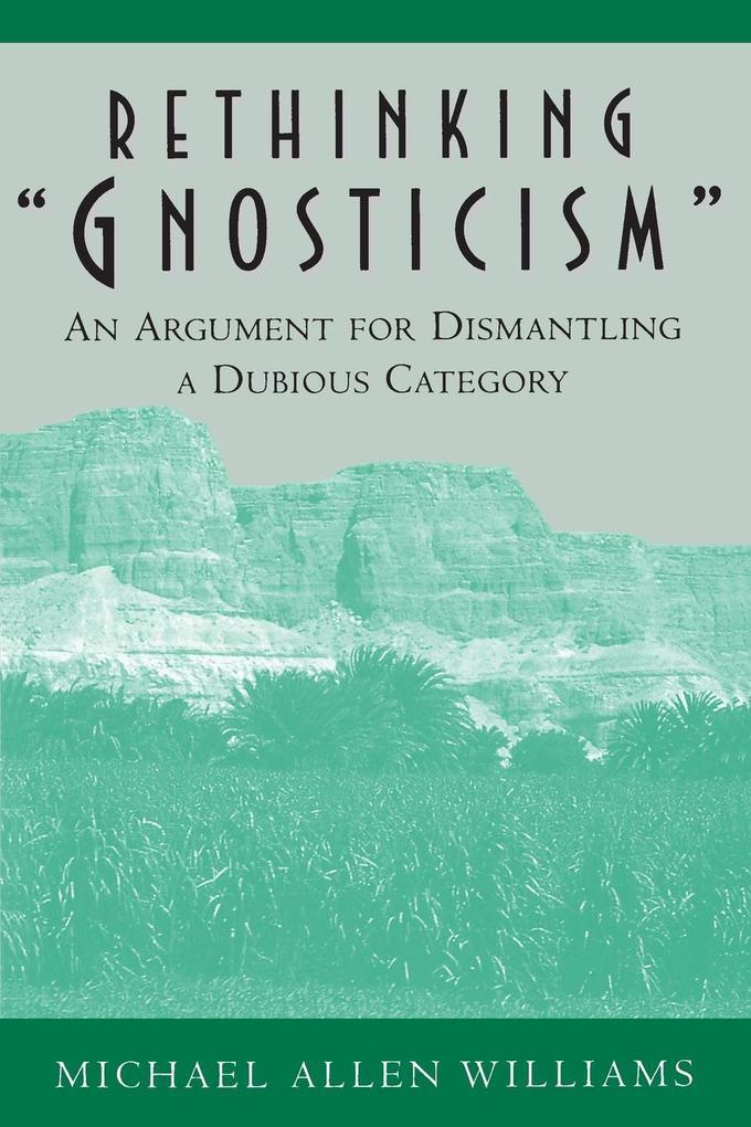 """Rethinking """"Gnosticism"""" als Taschenbuch"""