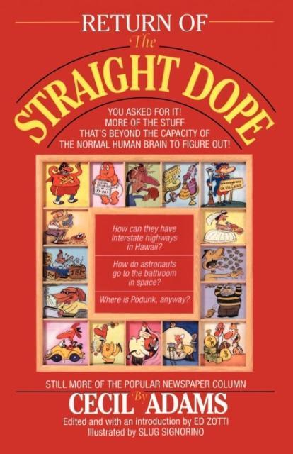 Return of the Straight Dope als Taschenbuch
