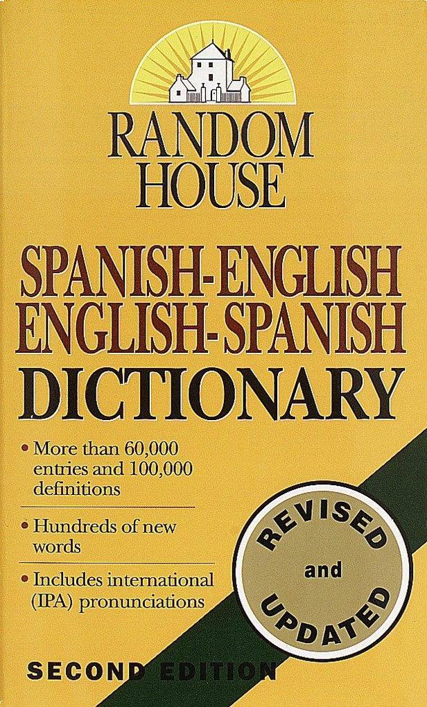 Random House Spanish-English/English-Spanish Dictionary als Taschenbuch