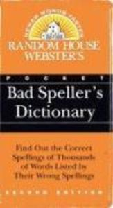 Random House Webster's Pocket Bad Speller's Dictionary als Taschenbuch