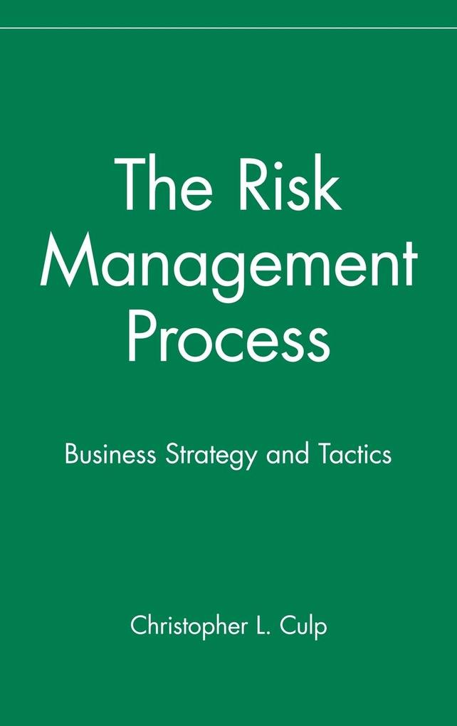 The Risk Management Process als Buch