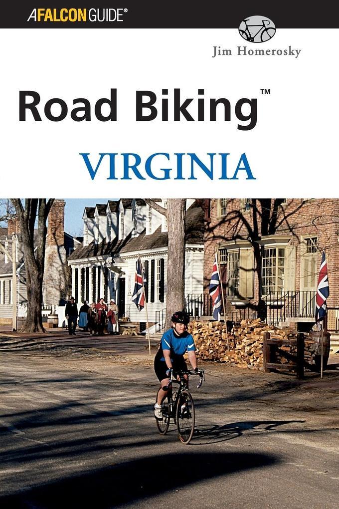 Road Biking Virginia als Taschenbuch