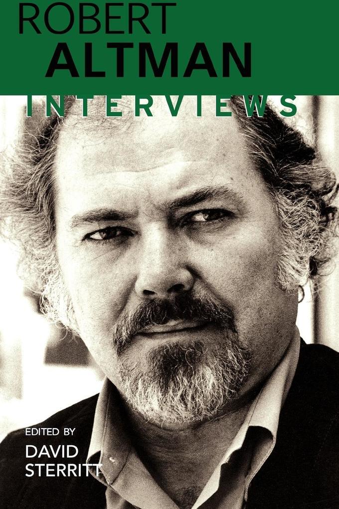Robert Altman: Interviews als Taschenbuch