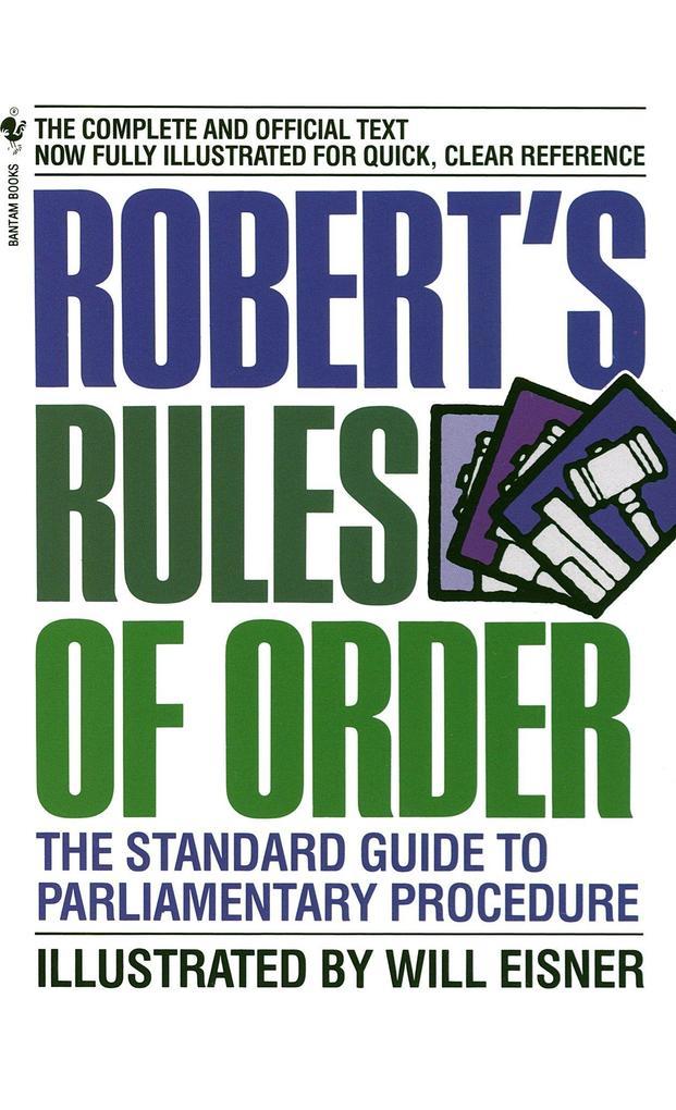 Robert's Rules of Order als Taschenbuch