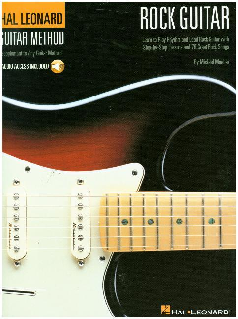 Hal Leonard Rock Guitar Method: Book/Online Audio als Taschenbuch