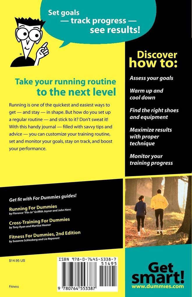 Runners Training Diary For Dummies als Taschenbuch