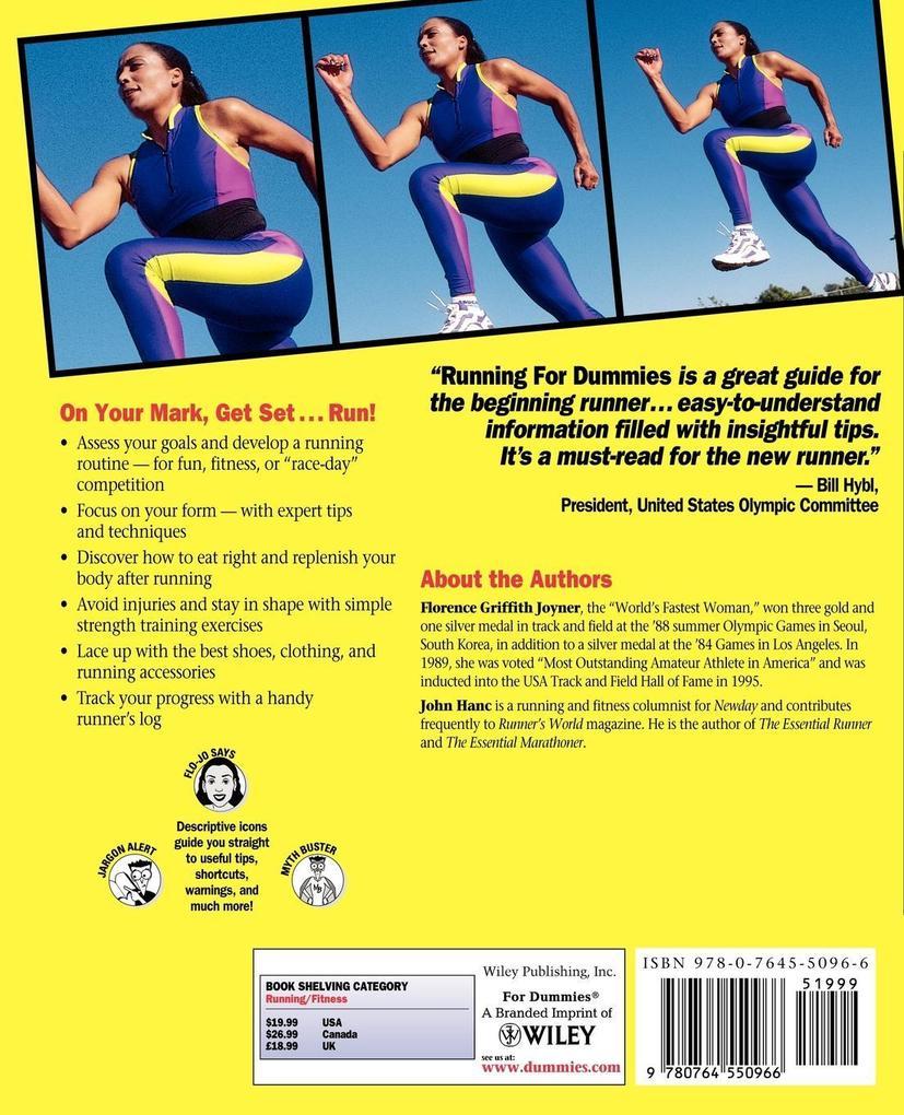 Running for Dummies als Buch