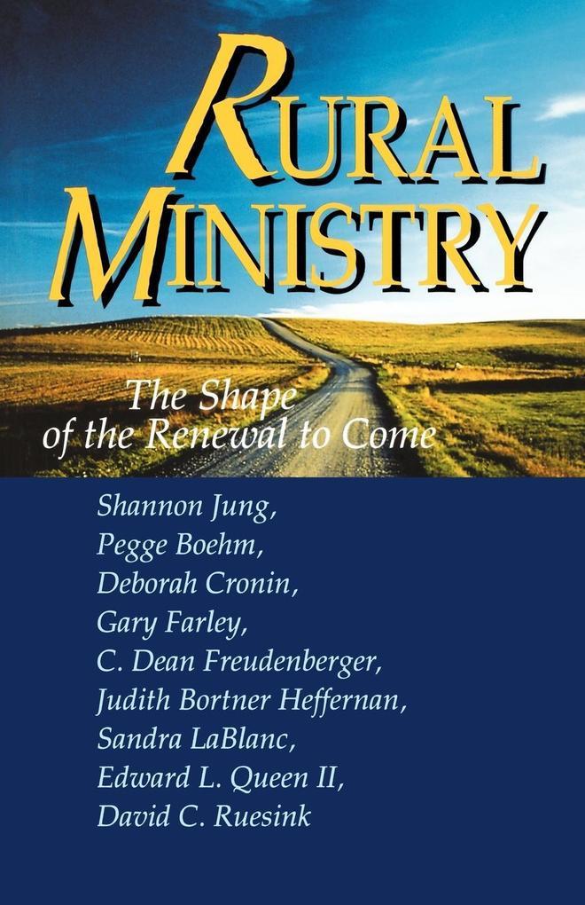 Rural Ministry als Taschenbuch