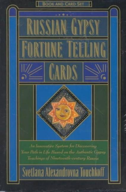Russian Gypsy Fortune Telling Cards als Buch