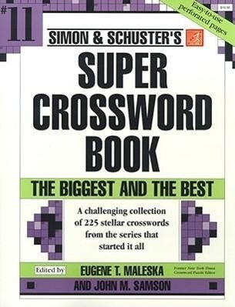 Simon & Schuster Super Crossword Book #11 als Taschenbuch