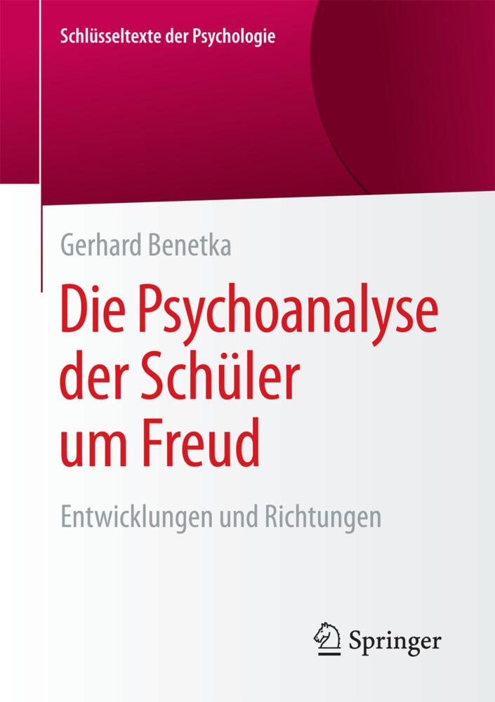 Die Psychoanalyse der Schüler um Freud als Buch