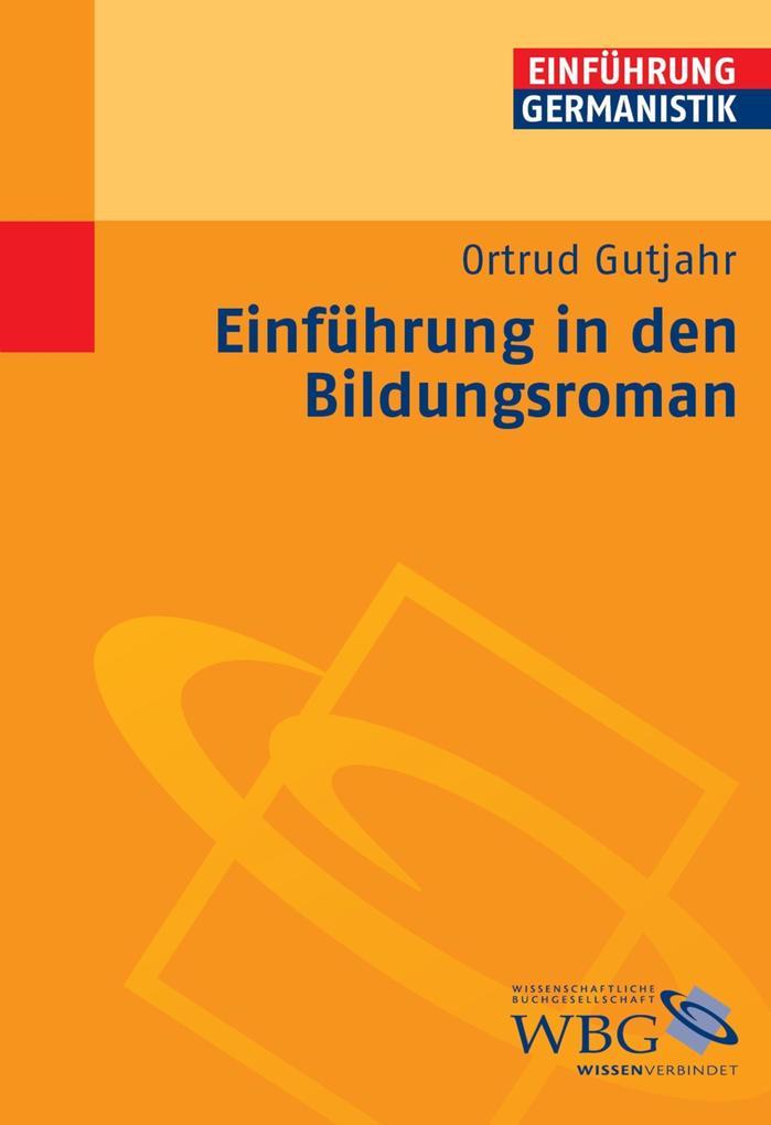 Einführung in den Bildungsroman als eBook epub