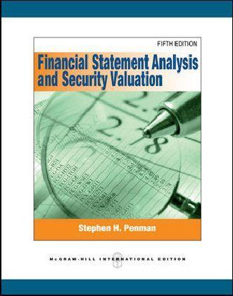 Financial Statement Analysis and Security Valuation als Buch von Stephen H. Penman
