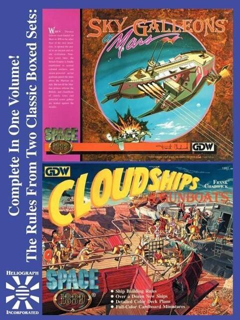 Sky Galleons of Mars & Cloudships & Gunboats als Taschenbuch