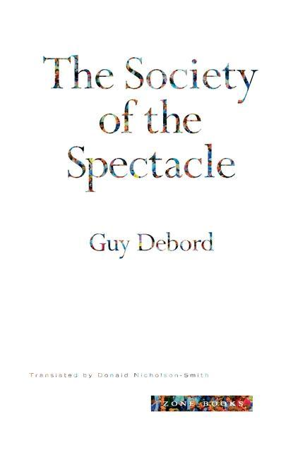 Society of the Spectacle als Buch