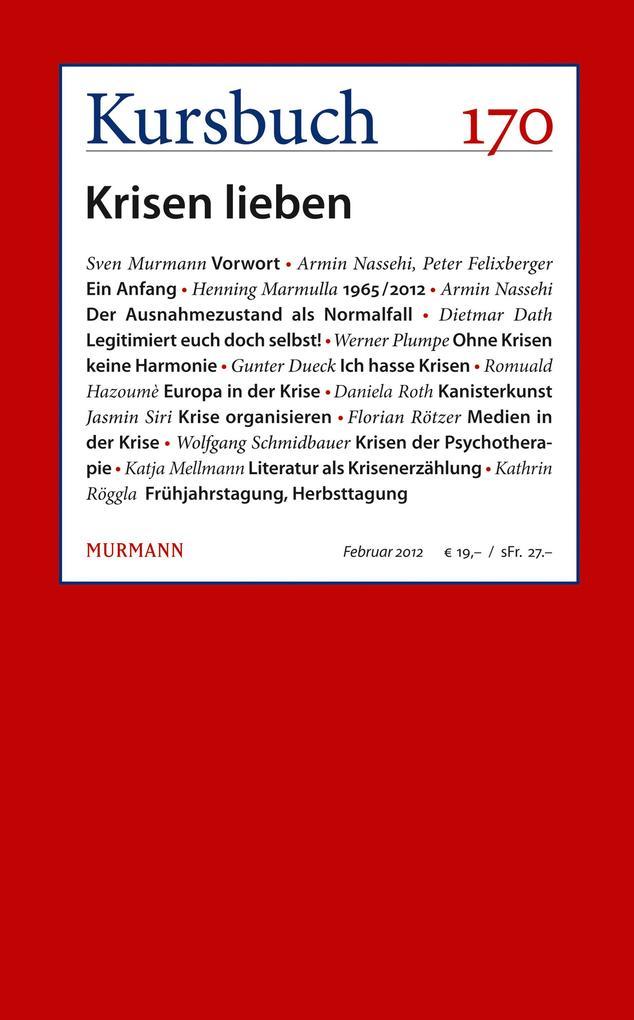 Kursbuch 170 als eBook