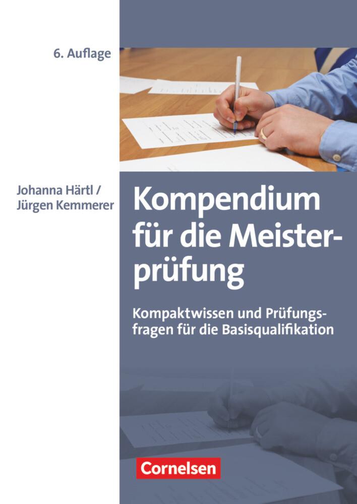 Kompendium für die Meisterprüfung als Buch