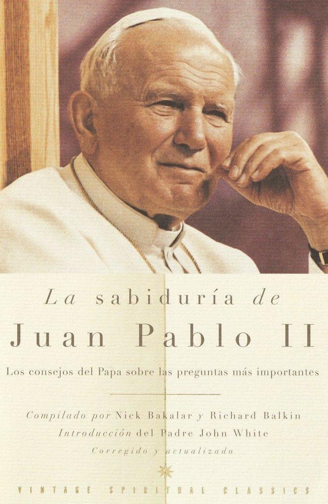 La Sabiduría de Juan Pablo II als Taschenbuch
