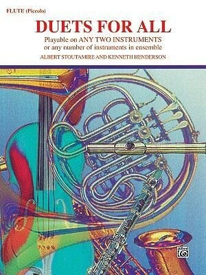 Duets for All: Flute, Piccolo als Taschenbuch