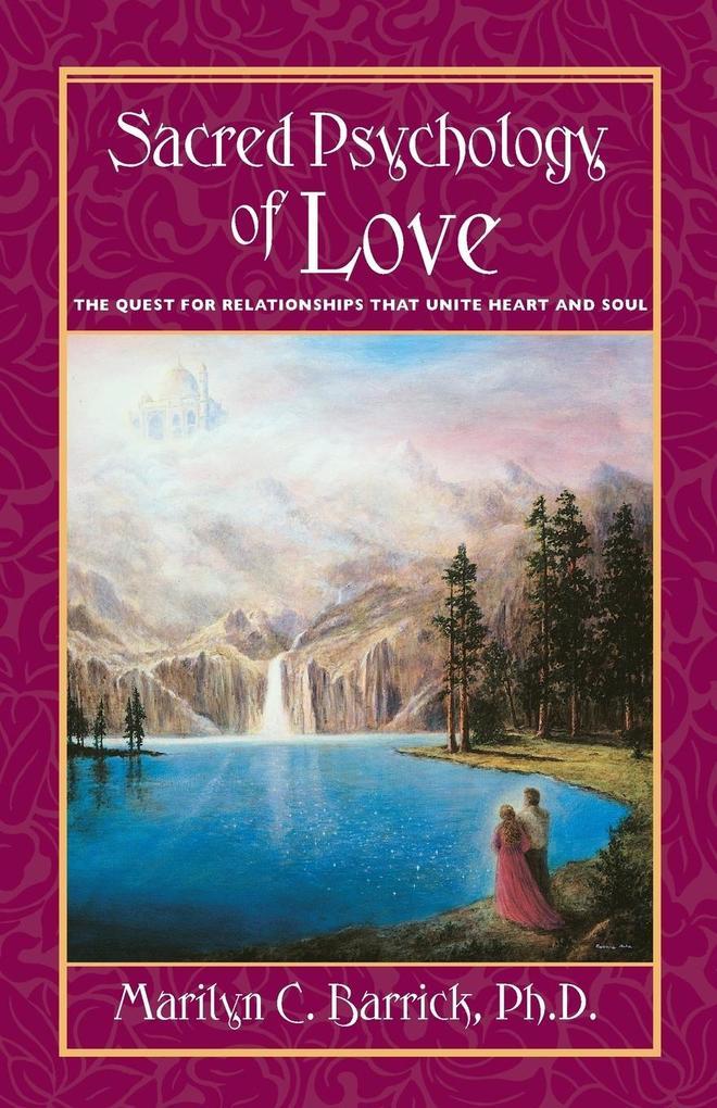 Sacred Psychology of Love als Taschenbuch