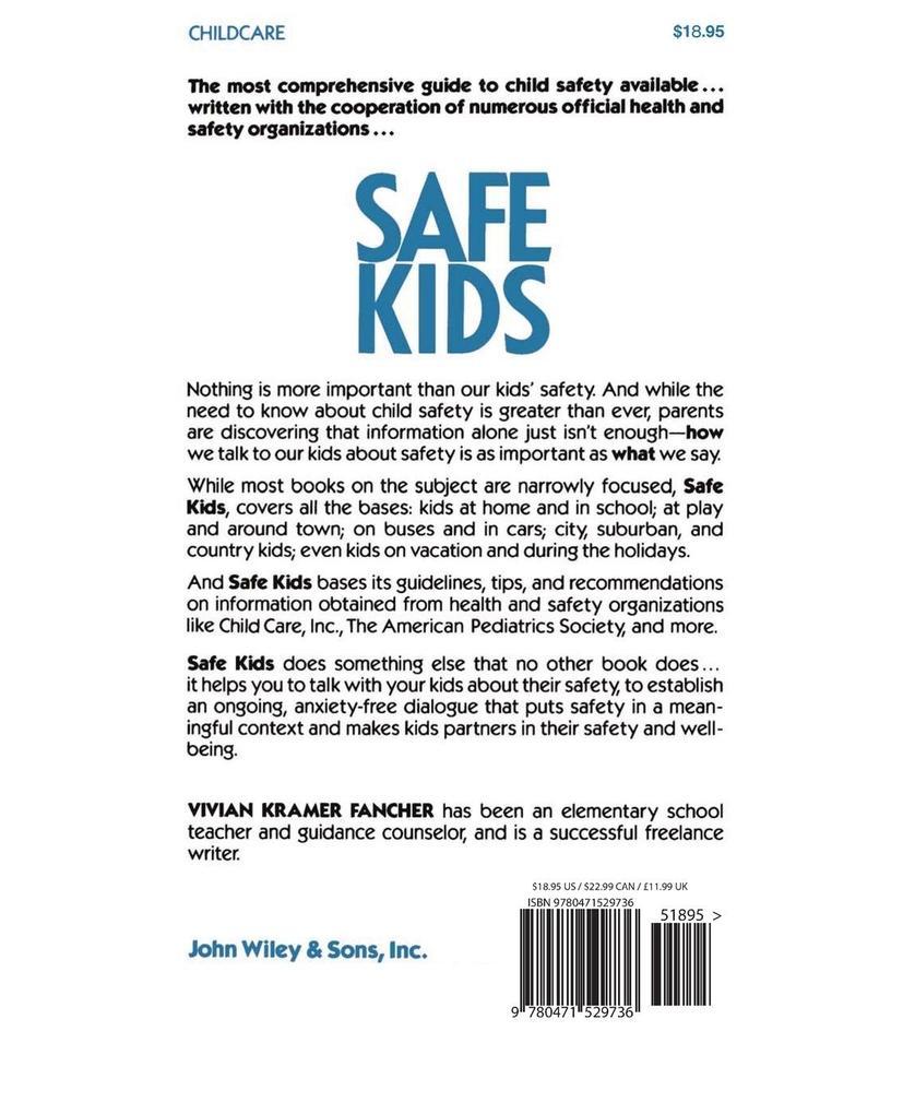 Safe Kids: A Complete Child-Safety Handbook and Resource Guide for Parents als Taschenbuch