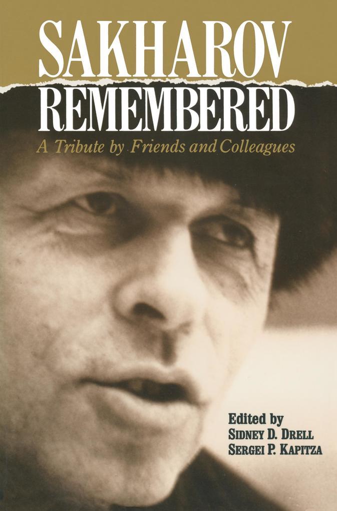 Sakharov Remembered als Taschenbuch