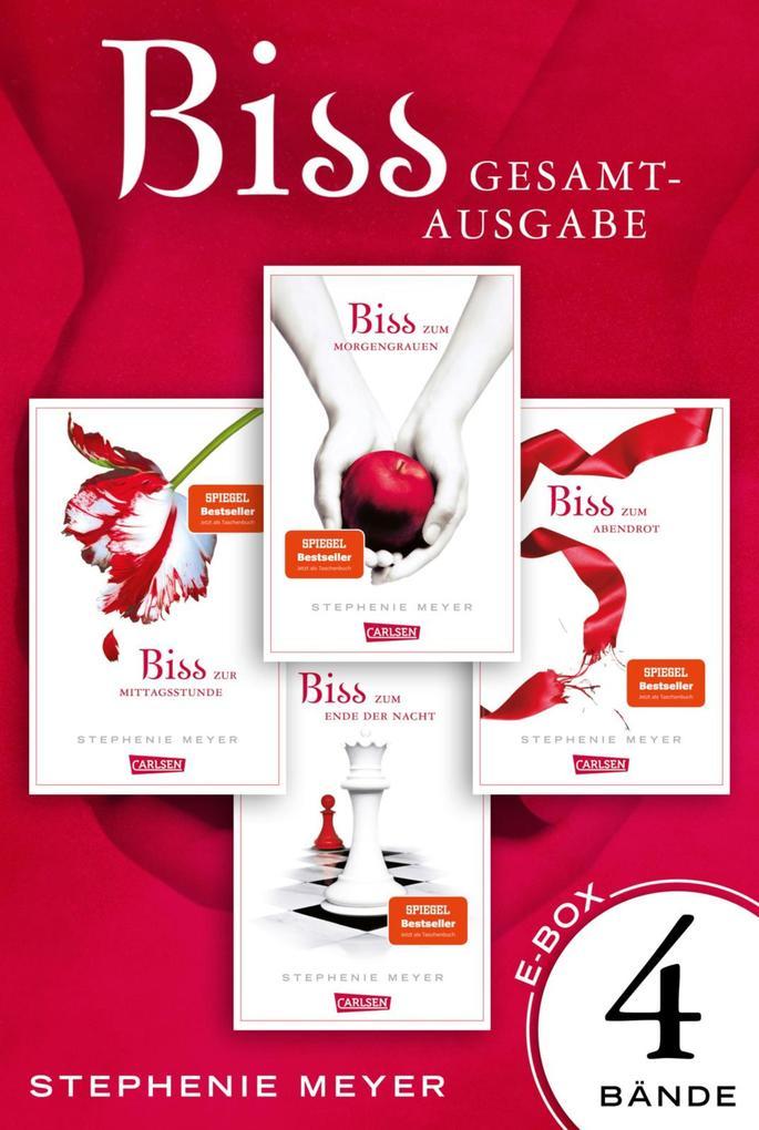Bella und Edward. Bis(s)-Gesamtausgabe, Band 1 - 4 als eBook epub