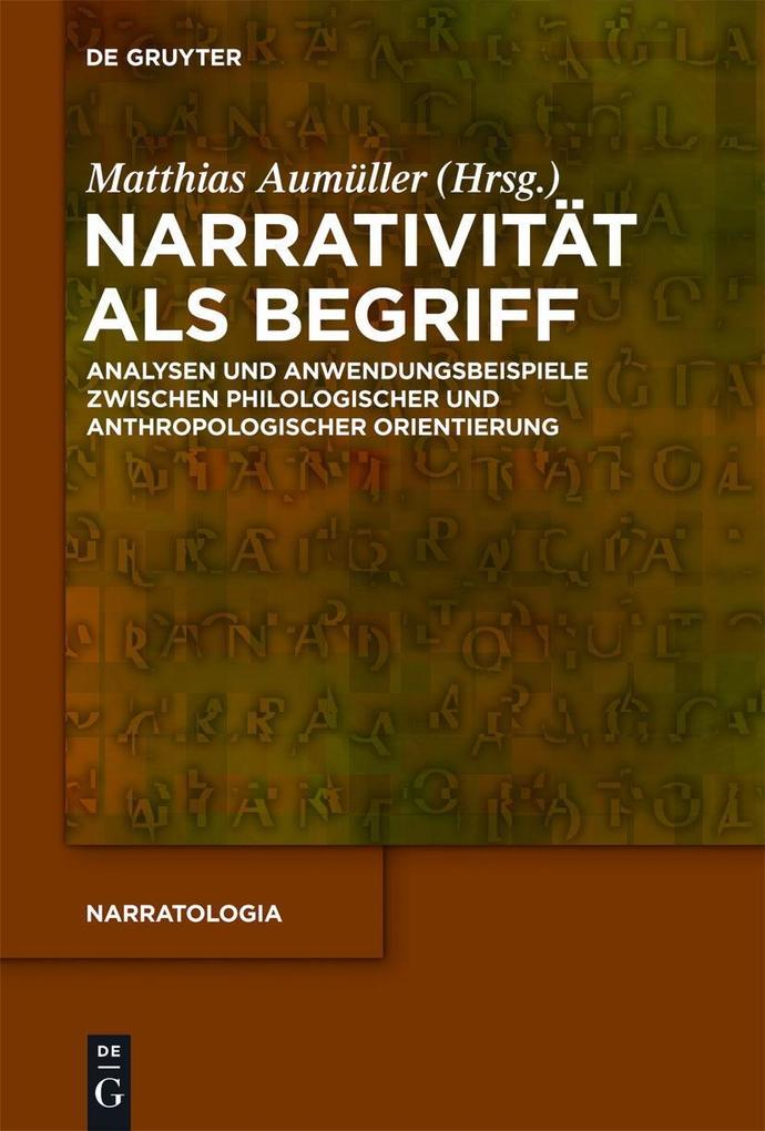 Narrativität als Begriff als eBook